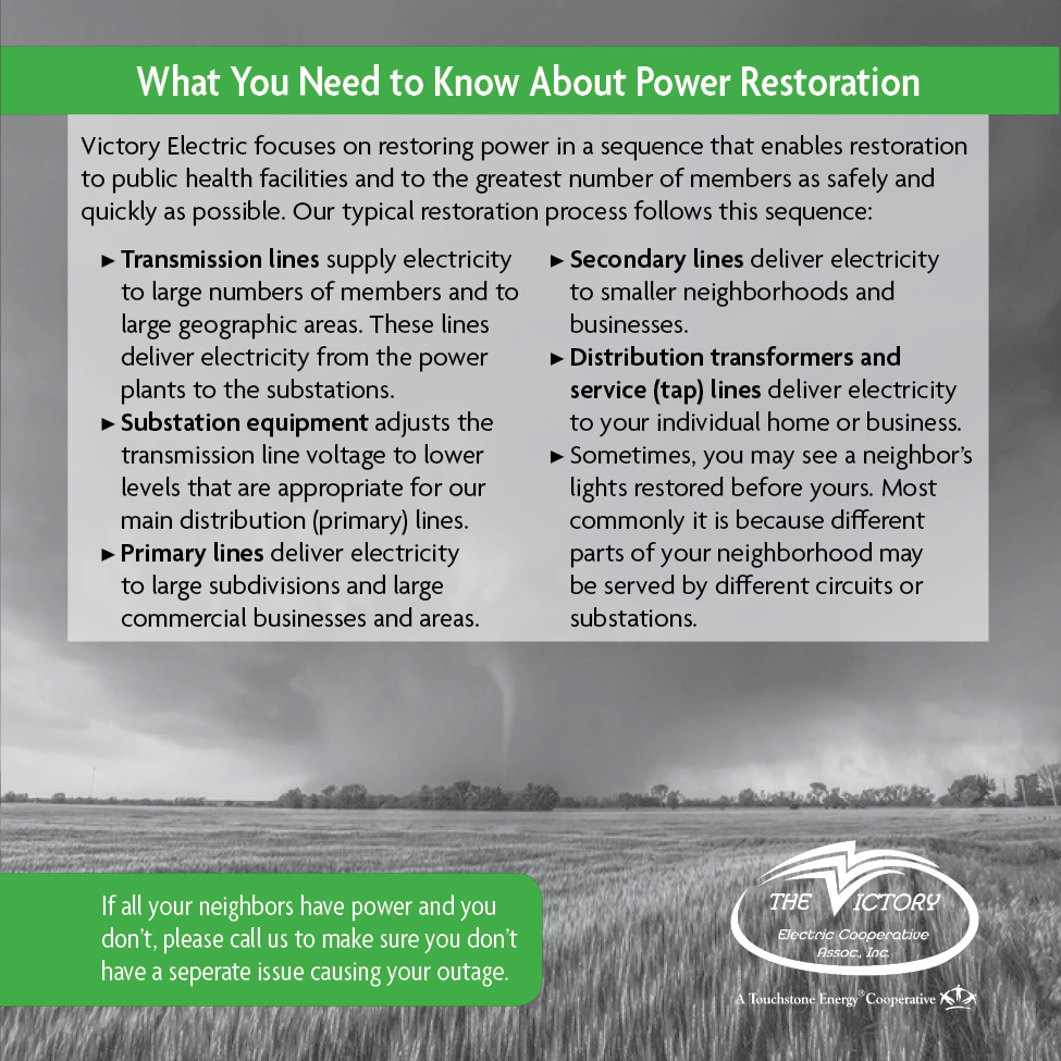 What you need to know about power Restoration