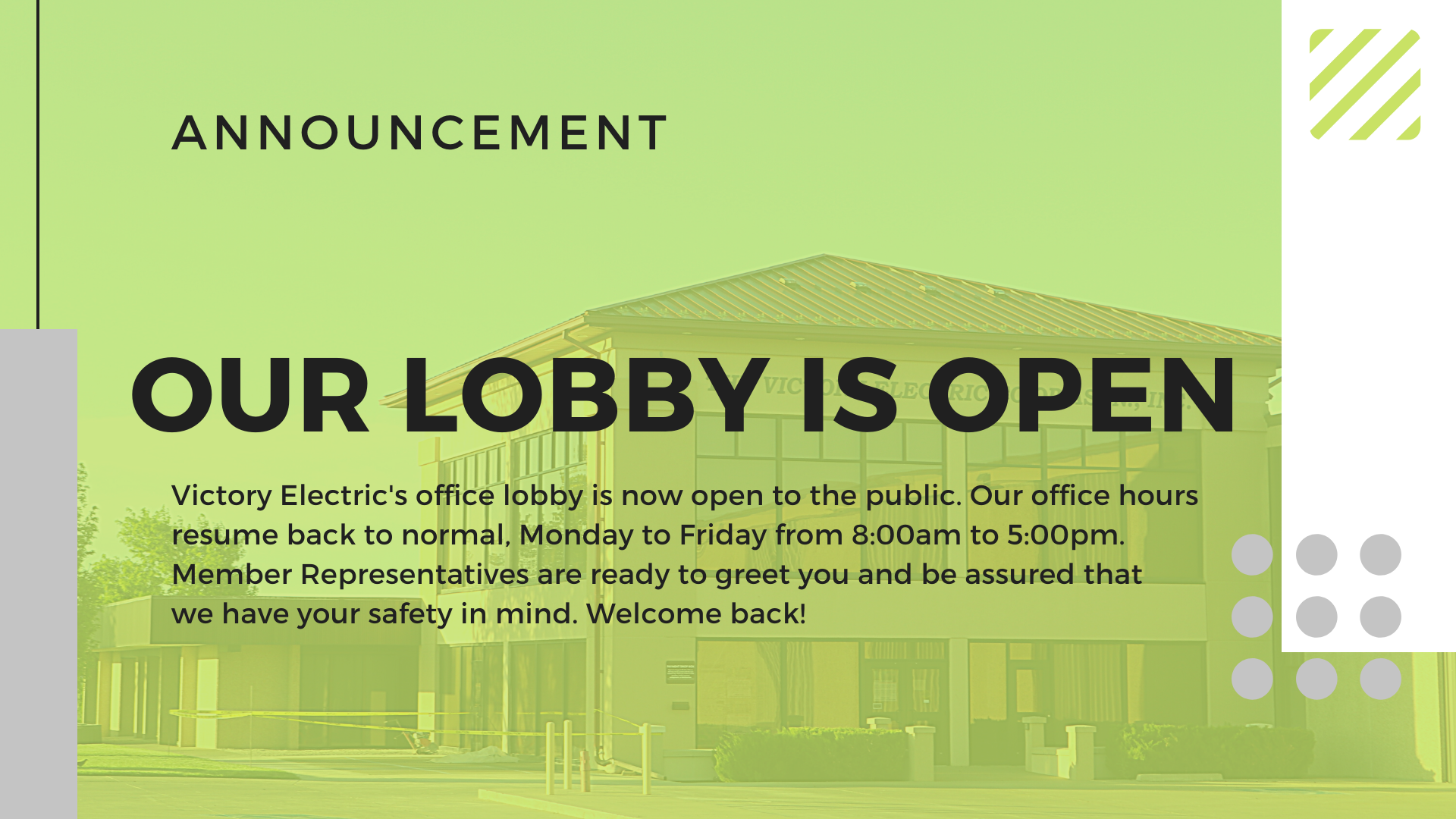 https://victoryelectric.net/sites/victoryelectric/files/revslider/image/Website%20Lobby%20Open%20Slide.png